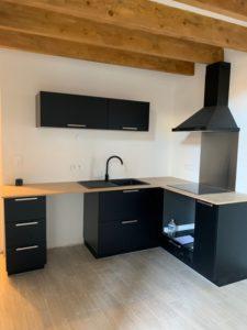 Avignon proche centre duplex 60 m2, cuisine